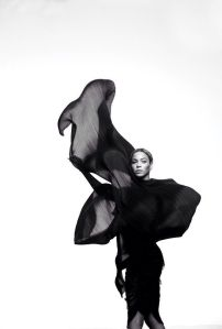 """Beyonce in """"Ghost"""" Styled by Karen Langley"""