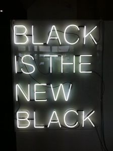 black is the new black BLOG