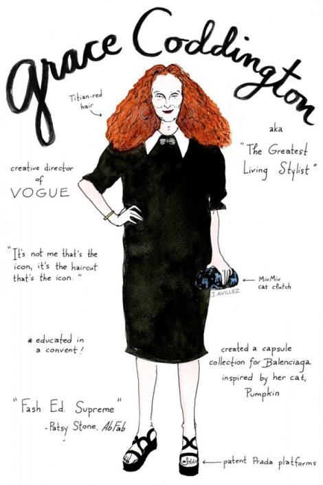 My Idol Grace Coddington