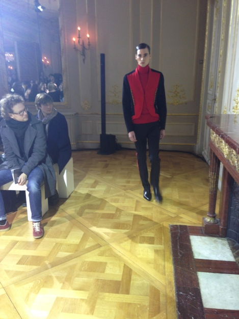 Show time at Icosphere A/W 2014 Paris Men's Fashion Week