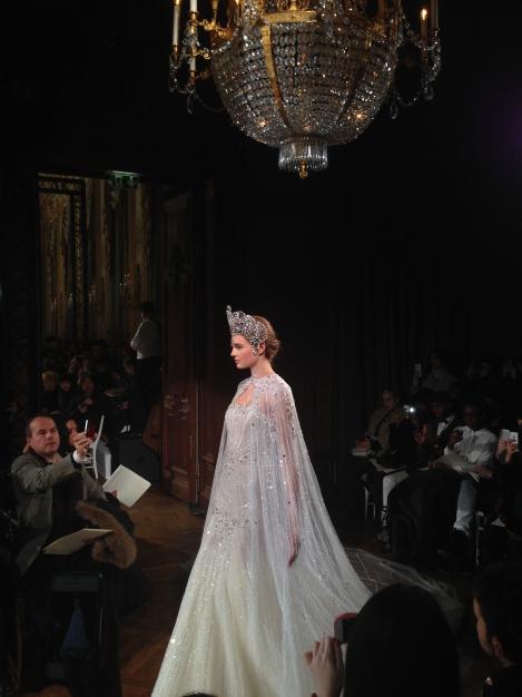 The Bride at Charlotte Licha Couture S/S 14