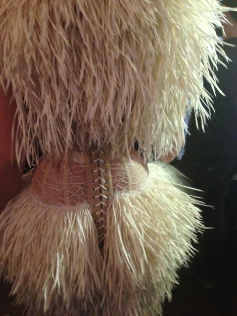 Backstage Bride at Serkan Cura Couture