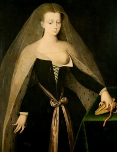 Agnes Sorel by Jean Fouquet