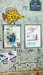 Graffiti at Rue Saint Maur