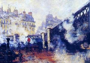 Saint Lazare by Claude Monet 1877