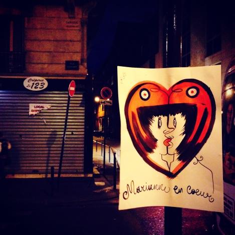 Random Acts of Art 'Marianne en Coeur'