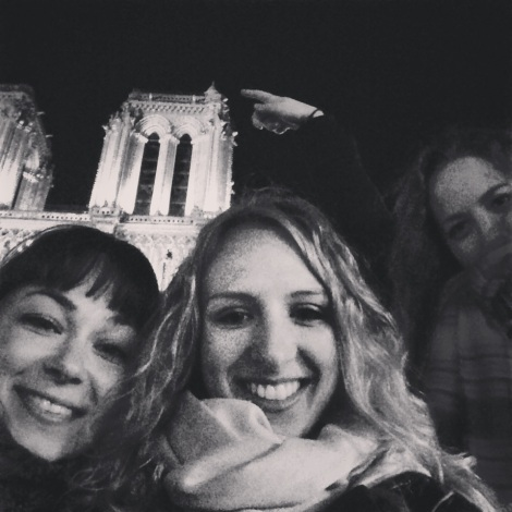 Notre Selfie with Notre Dame