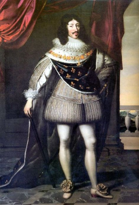 Louis XIII King of France (1638) by Charles Beaubrun