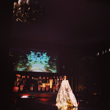 A Dramatic Exit for Tex Saverio FW14