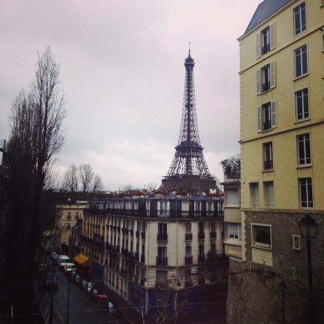 The Eiffel Tower from Palais de Tokyo