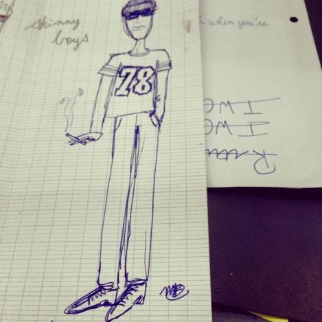 My Illustration of Xavier
