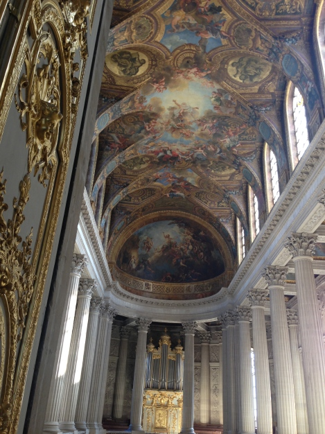 Mass in  Chateau Versailles