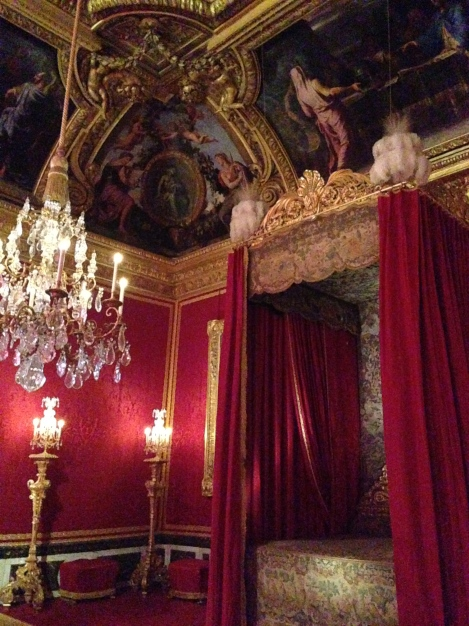 Bed Chamber Chateau Versailles