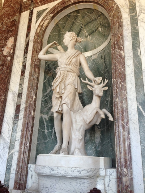 My Girl Diana the Huntress (A favorite Goddess of France and of the King)