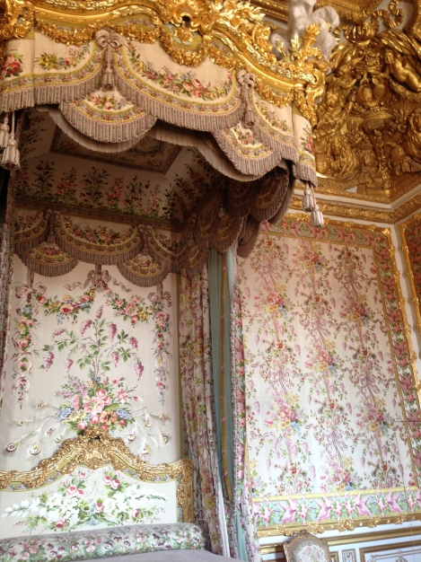 Marie Antoinettes Bed Chamber