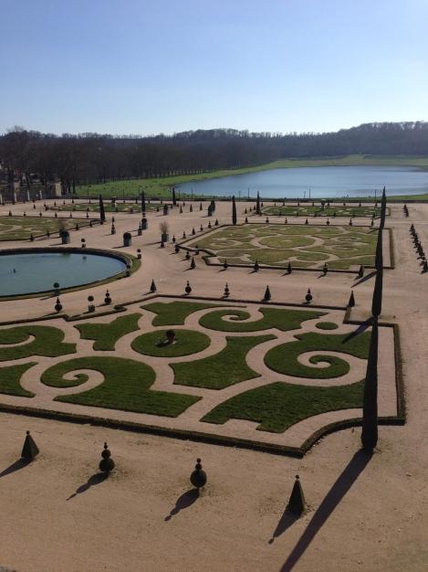 Chateau Versailles Gardens