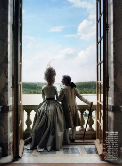 Sofia Coppola's Marie Antoinette  Photographed by Annie Leibovitz