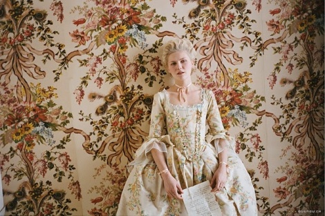 Kirsten Dunst as Marie Antoinette for Sofia Coppola Photographed by Annie Leibovitz