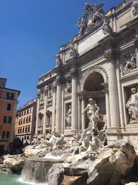 The incredible Trevi Fountain