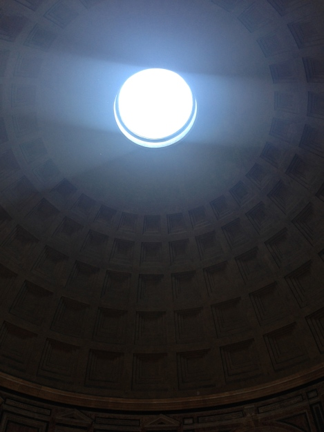 Ceiling of the Pantheon