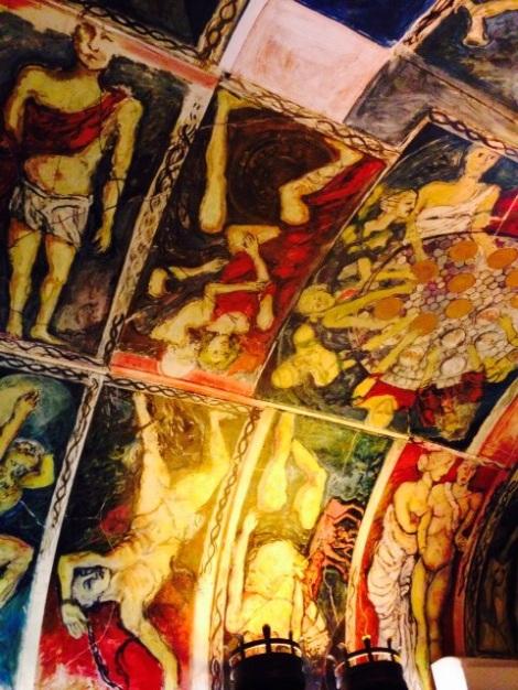 Restaurant Art Mural