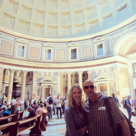 Dad & Me in the Pantheon